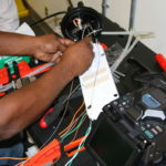Premise Fiber Optic Fusion Splicing
